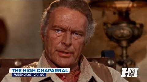 The High Chaparral - Weekdays